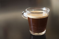 черный кофе Стоковая Фотография RF