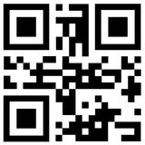 Черный код qr говорит ГОРЯЧЕЕ ЦЕНУ Стоковая Фотография RF