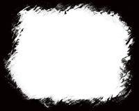 Черный край фото для фото ландшафта стоковое фото