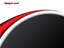 черный красный цвет компании брошюры Стоковая Фотография RF