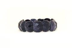 черный кристалл браслета Стоковая Фотография