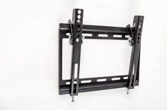 Черный кронштейн ТВ Стоковое Изображение RF