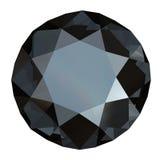 черный круглый сапфир Стоковые Изображения RF