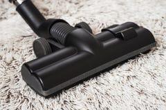 Черный крупный план щетки пылесоса Стоковая Фотография RF