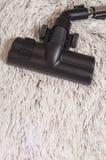 Черный крупный план щетки пылесоса Стоковое Изображение RF
