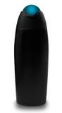 черный ливень шампуня бутылки Стоковая Фотография