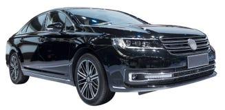 черный лимузин стоковое изображение rf