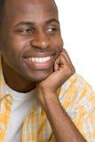 черный мальчик счастливый Стоковые Фото