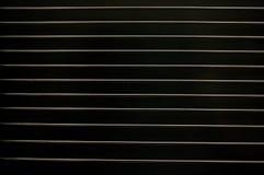 черный металл решетки Стоковое фото RF