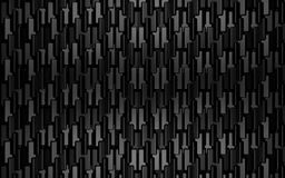 Черный металл 3d представляет предпосылку Стоковое Изображение