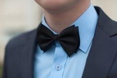 черный натянутый лук Стоковое Фото
