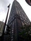 Черный небоскреб Стоковое Изображение RF