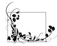 черный овощ орнамента 2 Стоковое Изображение