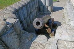 черный орудийный металл ретро Стоковое Изображение RF