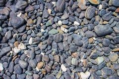 Черный остров камешка Стоковое Изображение RF