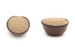 черный перец глины шара Стоковые Изображения RF