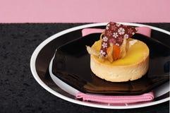 черный пирог пинка лимона Стоковые Фотографии RF