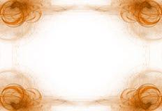 черный помеец графика дела граници Стоковое Изображение