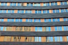 черный помеец фасада Стоковые Изображения RF