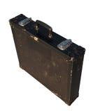 черный портфель изолировал старую безопасность Стоковое Изображение RF