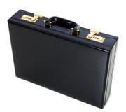 черный портфель Стоковые Изображения RF
