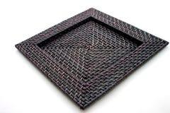 черный поднос deco Стоковые Изображения RF