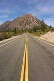 Черный привод Калифорния США Spring Hill горы Butte Стоковые Фото