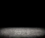 Черный пустой интерьер Стоковые Изображения