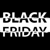 Черный плакат продажи пятницы сбывание пятницы знамени черное Стоковое Фото