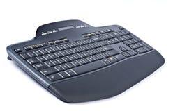 черный радиотелеграф клавиатуры компьютера Стоковое Фото