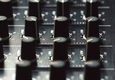 Черный регулятор ядрового смесителя Стоковое Изображение