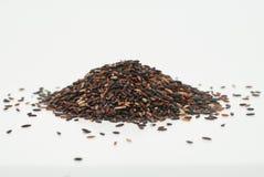 черный рис липкий Стоковое Изображение RF