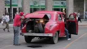 Черный рынок в Гаване, Кубе сток-видео