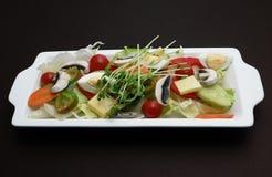 черный салат Стоковые Изображения RF