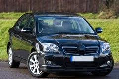 черный салон автомобиля Стоковое фото RF