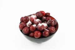 черный сахар красного цвета вишни шара Стоковое Фото