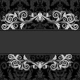 черный сбор винограда рамки Стоковые Фото
