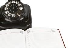 черный сбор винограда телефона устроителя Стоковая Фотография