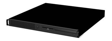 черный сервер 19inch 2 Стоковое фото RF