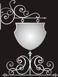 черный серебр Стоковые Изображения