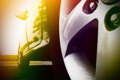 черный спорт автомобиля Стоковое Фото