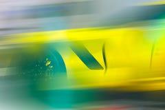 черный спорт автомобиля Стоковые Изображения RF