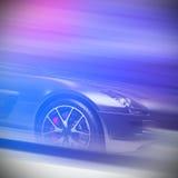 черный спорт автомобиля Стоковая Фотография