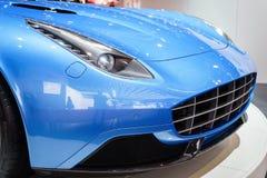 черный спорт автомобиля стоковая фотография rf