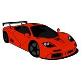 черный спорт автомобиля Стоковое Изображение RF