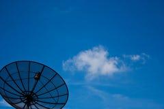 черный спутник информации Стоковая Фотография