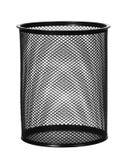 Черный стальной ненужный изолированный ящик Стоковое Изображение RF
