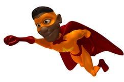 черный супергерой Стоковые Фото