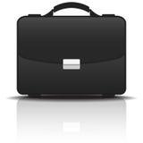 Черный случай портфолио, иллюстрация вектора бесплатная иллюстрация