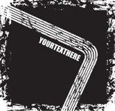 черный текст grunge бесплатная иллюстрация